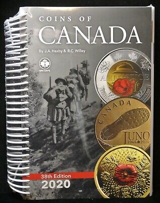 2020 COINS OF CANADA Coin Catalogue - 38th Edition by Haxby & Wiley - NEW&SEALED