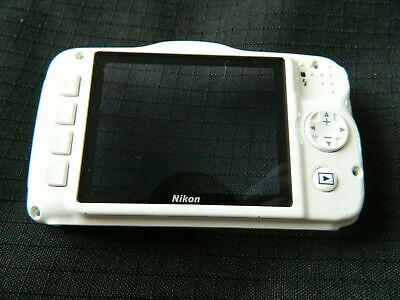 Used Nikon S32 Digital Camera white back cover only
