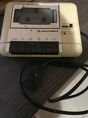 Commodore Tape Datasette Unit  Original Equipment
