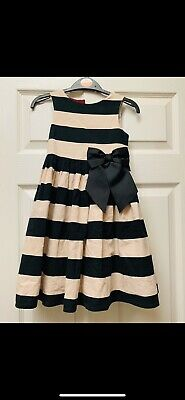 girls party dresses age 4-5 years Next Black And Cream
