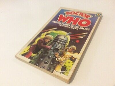 Dr Who & The Planet Of The Daleks Terrance Dicks 1976 Paperback Ex Condition