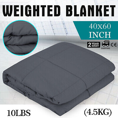Weighted Blanket Deep Relax Sleeping Gravity for Adult Men Women Soft 4.5KG