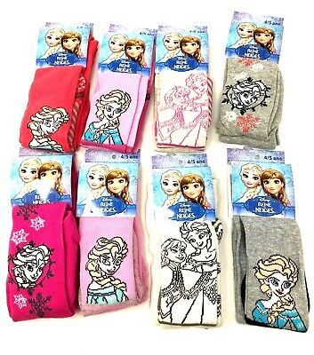 Disney Frozen Girls Tights Size 4-5 yrs Set of 2 pairs