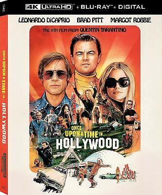 Once Upon A Time In Hollywood - 4K ULTRA HD ONLY -**BRAND NEW** READ DETAILS