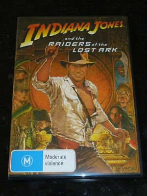 (New) Indiana Jones And The Raiders Of The Lost Ark Dvd - Pal Region 4