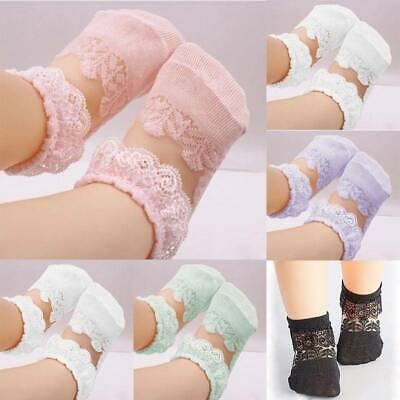 Newborn Baby Lace Soft Toddler Socks Girls Cute Breathable Kids Socks 22 Colors