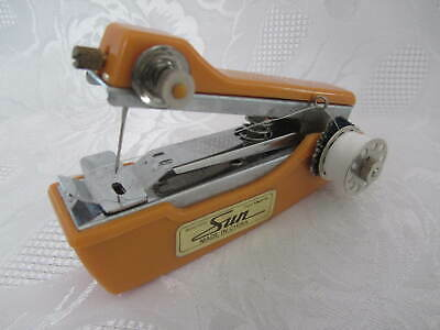 Vintage Sun Automatic Feed Hand Held Sewing Machine