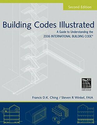 BUILDING CODES ILLUSTRATED: A GUIDE TO UNDERSTANDING 2006 By Steven R. Winkel VG