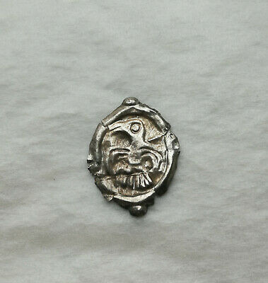 Ancient Roman Celtic Silver Artifact Decoration Mythological BIRD VERY RARE