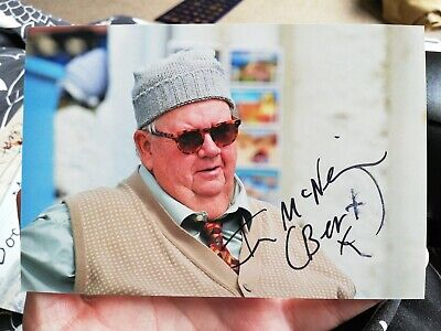 Ian McNeice Bert Large Doc Martin signed autographed 6x4 inch picture