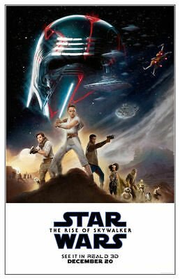 """Star Wars: The Rise of Skywalker (11"""" x 17"""") Movie Collector's Poster Print (T4)"""