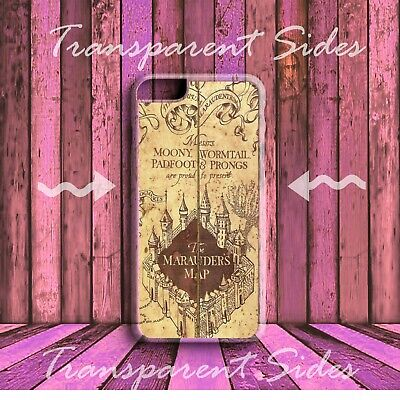 Harry Potter Marauders Map HARD PHONE CASE COVER for iPhone models