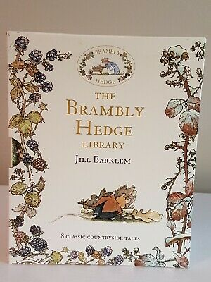 The Brambly Hedge Library - Complete Set Collection 8 Books In Original Sleeve