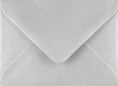 C7 A7 SILVER Coloured Envelopes 82mm x 113mm Party Invitations Crafts