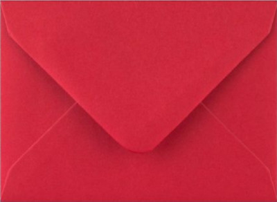 C7 A7 Scarlet Red Coloured Envelopes 82mm x 113mm Party Invitations Crafts