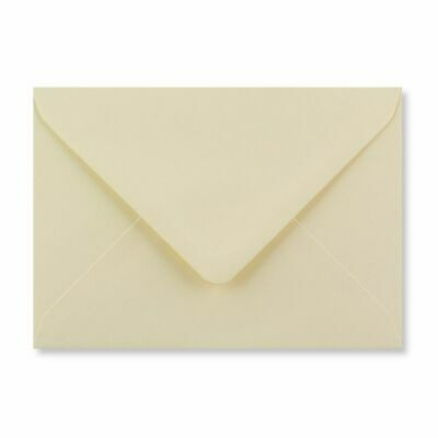 C7 A7 Ivory Coloured Envelopes 82mm x 113mm Party Invitations Crafts