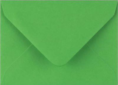 C7 A7 Fern Green Coloured Envelopes 82mm x 113mm Party Invitations Crafts