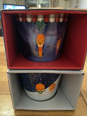 Aldi kevin the carrot 2019 & 2018 Official Christmas Mugs - 2 MUGS