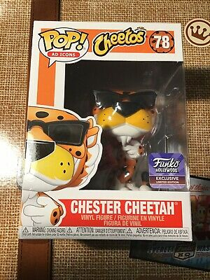 IN HAND Chester Cheetah #78 FunkoPop! Hollywood Grand Opening Exclusive AD ICON