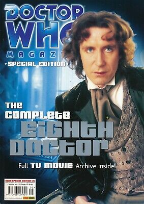 Doctor Who Magazine - The Complete Seventh & Eighth Doctor Specials