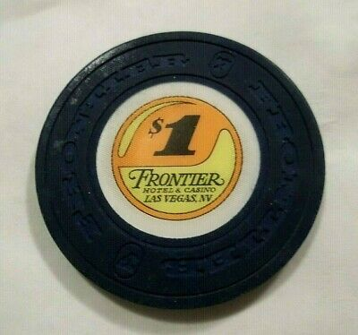 ✔ FRONTIER HOTEL STRIKE ISSUE Casino Chip Las Vegas Nv Nevada Obsolete LQQK