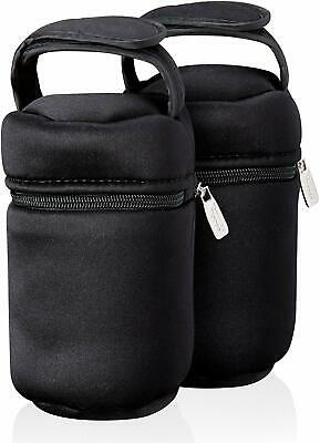 Baby Bottle Carriers Warmer Bag Tommee Tippee Closer to Nature Insulated 2 Pack