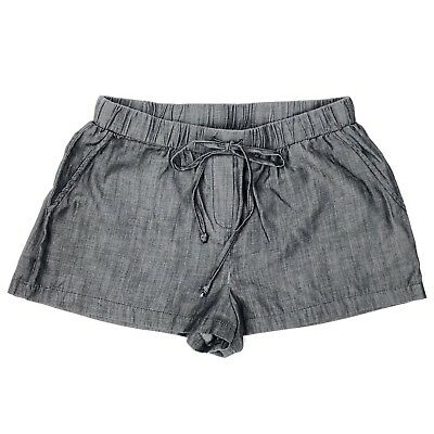 Saks Off Fifth Avenue Women Cambray Gray Short Size 5 48 RN 92087