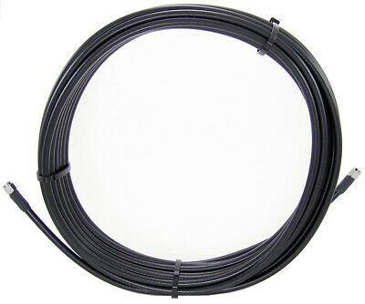 New  Cisco Cab-L400-20-Tnc-N= Coaxial Cable 6 M Lmr-400 Black CAB-L400-20-TNC-N=