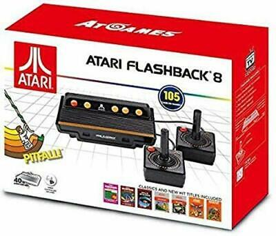 ATARI FLASHBACK 8 Retro 2600 8 Bit Games Console 105 Built In Games NEW / Boxed