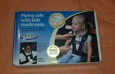 CARES Kids Fly Safe Child Restraint System Airplane Aviation Harness 22-44 lbs