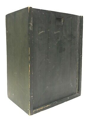 19th Century Slide Top Candle Box with Original Paint
