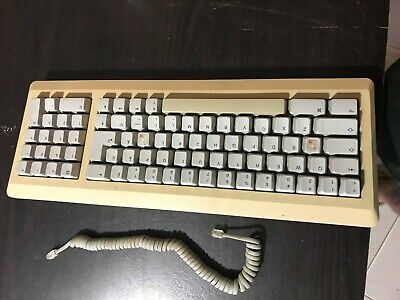 Apple vintage Mac Keyboard Mo11OA With RJ11 TypeCable VGC Working