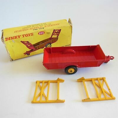 spare parts Dinky Halesowen Trailer No.27b Raves X 2 Painted Metal Casting