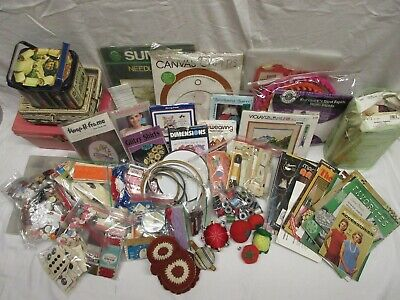 VTG - Assorted Lot of ALL of Moms / Grandmas Sewing Notions