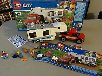 FAST Shipping 344 Piece LEGO City Pickup /& Caravan 60182 Building Kit
