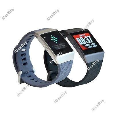 Fitbit IONIC Smartwatch Bluetooth GPS Activity Tracker S&L Bands New Sealed Box
