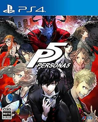 New PS4 Persona 5 P5 Sony PlayStation 4 Japan Game Free Shipping