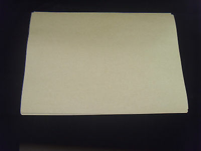 20 Sheets  Brown Kraft  Self Adhesive  A4 Size Paper YELLOW BACKING EASY PEELING