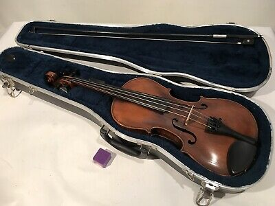Antique 4/4 Violin Stainer Model Handmade Stainer Copy - W/ Glaesel Hard Case