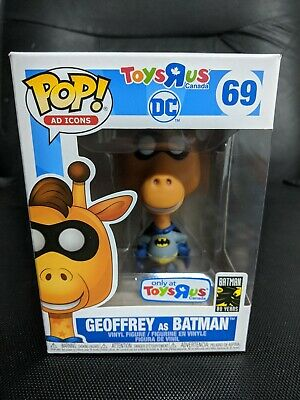 Funko Pop! Ad Icons TRU Toys R Us Canada Excl. DC Geoffrey as Batman #69