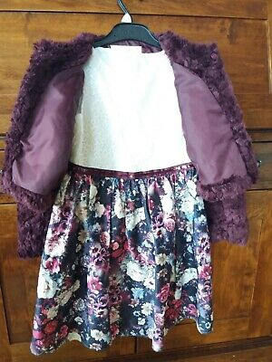 Girls Dunnes Dress/Jacket Age 7 Years - Worn Once