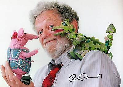 PETER FIRMIN Signed In Person 12X8 Photo CLANGERS & BAGPUSS COA