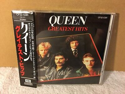 A3139 Queen / Greatest Hits (Japan) Cp32-5381 Obi