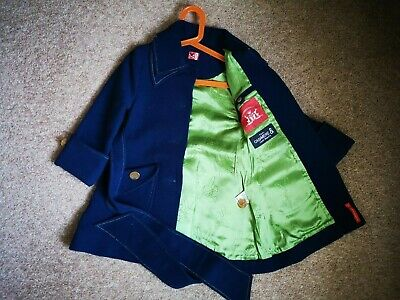 No Added Sugar Blue Cashmere Coat - Age 4 Girl - Excellent Condition!