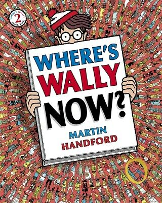 Where's Wally Now? Martin Handford Book No 2 New
