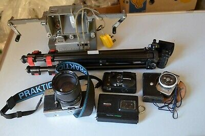 Untested photography / camera / binoculars - job lot  3