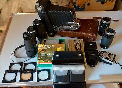 Untested photography / camera / binoculars - job lot  4