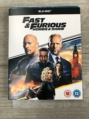 Fast & Furious Presents: Hobbs & Shaw [Blu-ray] RELEASED 02/12/2019