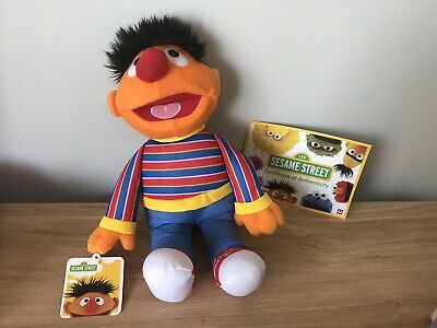 Sesame Street Ernie Classic Collection, Limited Edition,cert Of Authenticity,