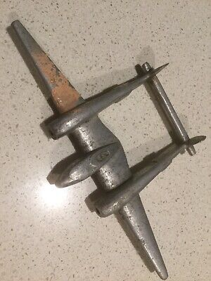 Ww2 Australian Raaf Trench Art P38 Lightning
